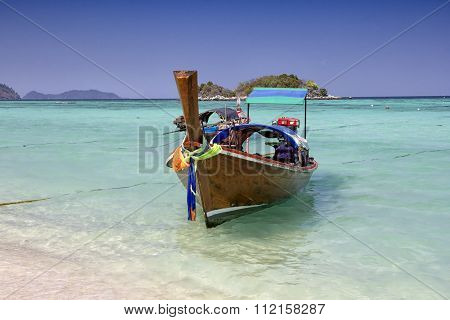 Long Tail Boat, Koh Lipe