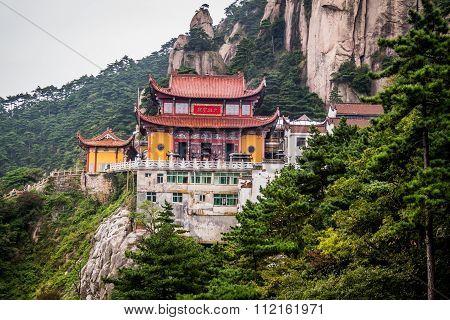 Jiuhuashan Mountains