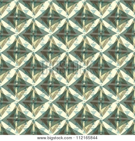 Polygon Geometric Background Seamless Pattern Vector