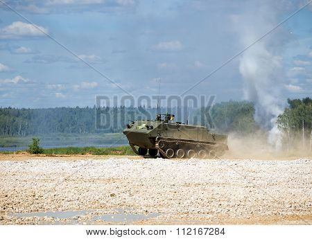 Armored troop-carrier BTR-MD