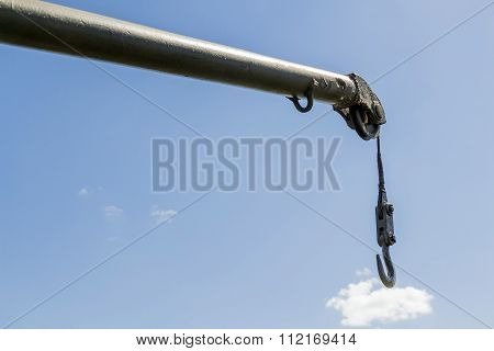 The Boom Crane With Hook