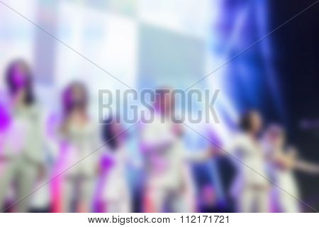 Award Ceremony Theme Blur Background