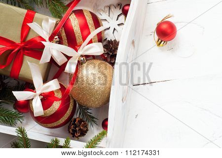 Beautiful Christmas Balls With Tapes