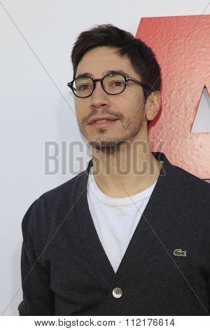 LOS ANGELES - DEC 12:  Justin Long at the