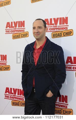 LOS ANGELES - DEC 12:  Tony Hale at the