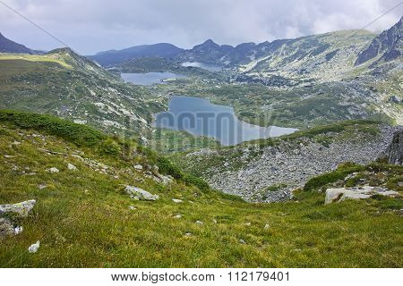 The Twin, The Trefoil, the Fish and The Lower Lakes, The Seven Rila Lakes