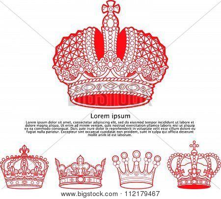 Aristocracy insignia elements