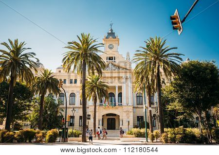 City Council, Town hall in Malaga, Spain