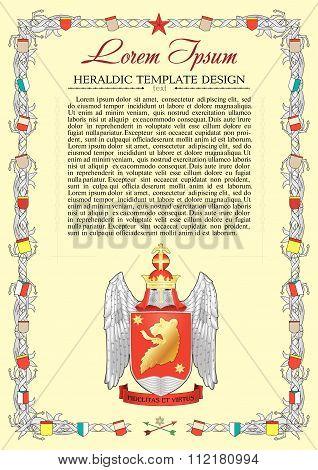 heraldic charter design