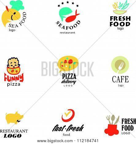 restaurant logo design tempaltes