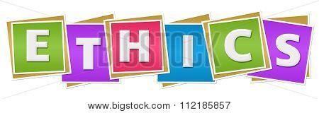 Ethics Colorful Blocks