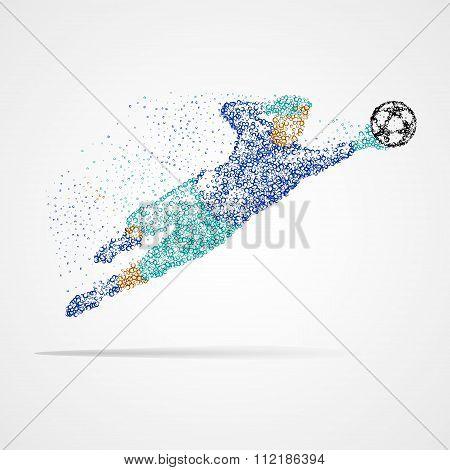 Football, soccer, goalkeeper, athlete, sports