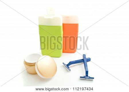 Razors, Shampoo And Other Toiletry