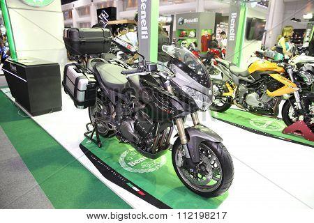 Bangkok - December 11 : Benelli Trek Motorcycle On Display At The Motor Expo 2015 On December 11, 20