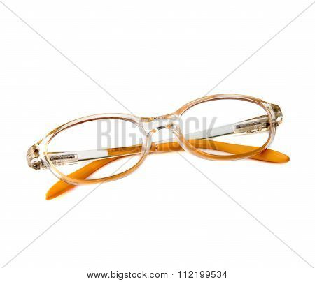 Glasses For Girls Isolated On White Background