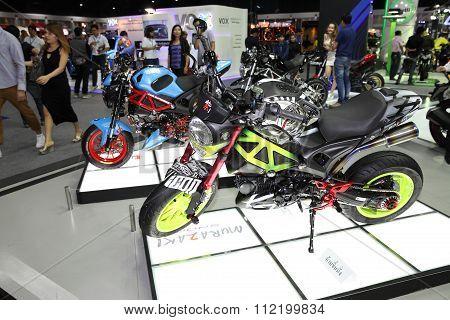 Bangkok - December 11 : Motorcycle With Murazaki Modify Set On Display At The Motor Expo 2015 On Dec