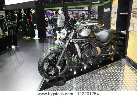 Bangkok - December 11 : Kawasaki Vulcan S Motorcycle On Display At The Motor Expo 2015 On December 1