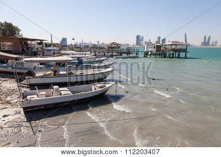 Fishing Boats In Bahrain