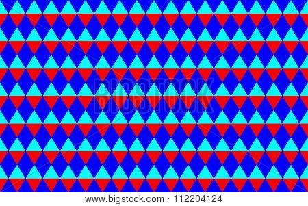Abstract Geometric Seamless Pattern With Triangles