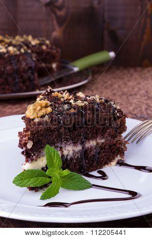 Chokolate Sponge Cake