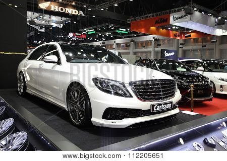 Bangkok - December 11: Mercedes Benz With Carlsson Modify Set Car On Display At The Motor Expo 2015