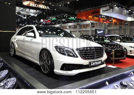 Bangkok - December 11: Mercedes Benz With Carlsson Modify Set Car On Display At The Motor Expo 2015