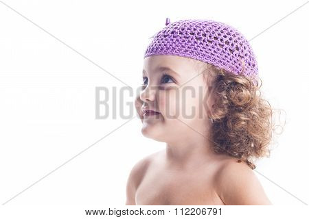 Smiling Child With Hat