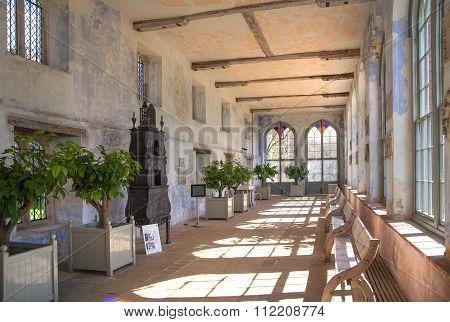 SUSSEX, UK - APRIL 11, 2015: Sevenoaks Old English mansion 15th century