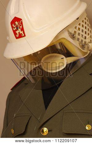 police uniform Czechoslovak