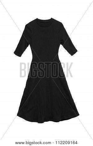 Black Dress Isolated