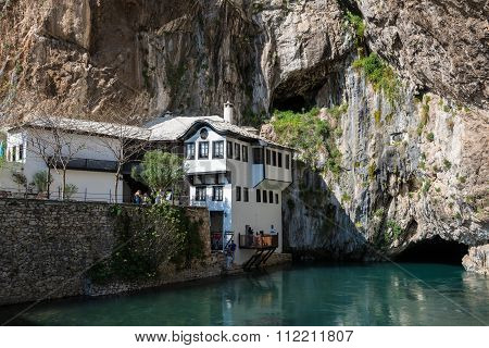 The Blagaj Tekke in Bosnia and Herzegovina