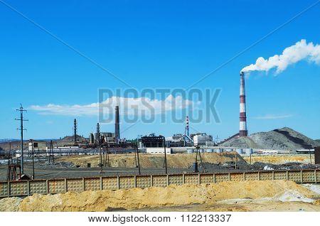 Copper Smelting Plant In Karabash