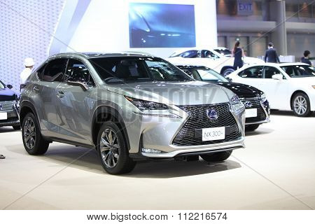 Bangkok - December 11: Lexus Nx 300H Car On Display At The Motor Expo 2015 On December 11, 2015 In B
