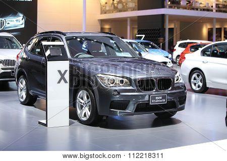 Bangkok - December 11:bmw X1 Sdriver 18I Car On Display At The Motor Expo 2015 On December 11, 2015