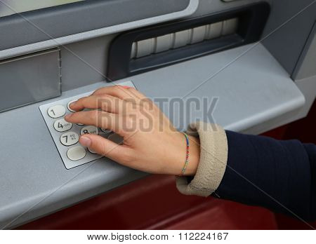 Secret Code In The Numeric Keypad Of The Atm
