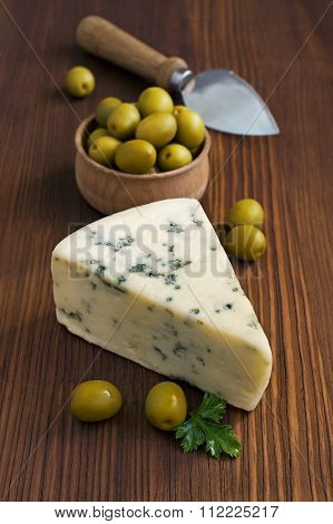 Blue Cheese And Olive
