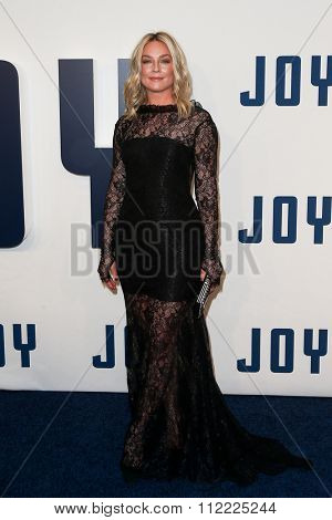 NEW YORK-DEC 13: Actress Elisabeth Rohm attends the