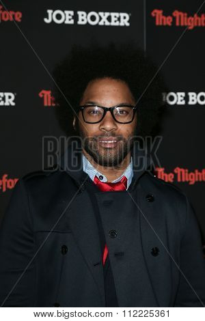 NEW YORK-NOV 16:  Actor Jonathan Fernandez attends the New York screening of Columbia Pictures'
