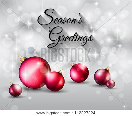 2016 Happy New Year and Merry Christmas Background for Seasonal Greetings Cards, Parties Flyer, Dinner Event Invitations, Xmas Cards and sp on.