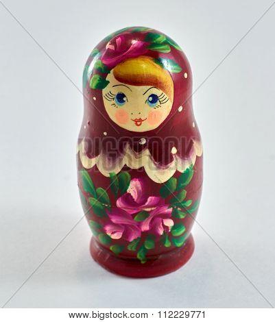 Russian nesting doll. Matryoshka.
