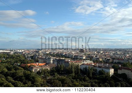 A View Of The City Of Vienna - Austria