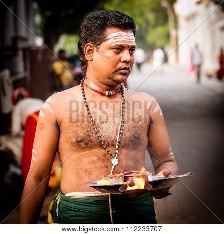 Hindu Priest Madurai