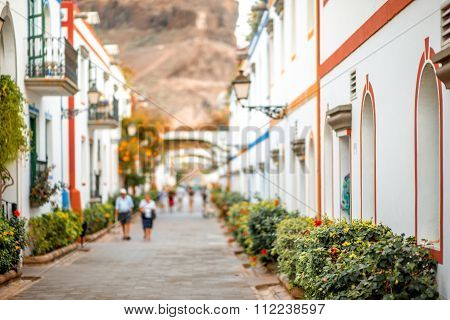 Puerto de Mogan village
