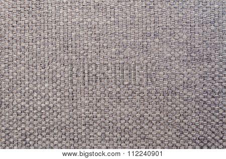 Closeup Gray Fabric At Sofa Texture Background