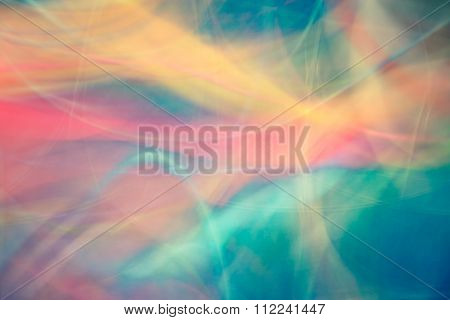 Abstract Movement Light Color Blurred Background.