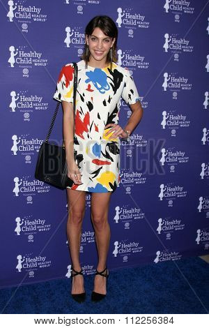 LOS ANGELES - OCT 1:  Bianca Alexa at the Healthy Child Healthy World Gala at the Montage Hotel on October 1, 2015 in Beverly Hills, CA