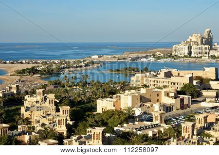 Al Jazirah Al Hamra, Al Hamra Island view, Ras Al Khaimah, United Arab Emirates