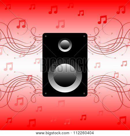 Speaker, sound music, acoustics speakers