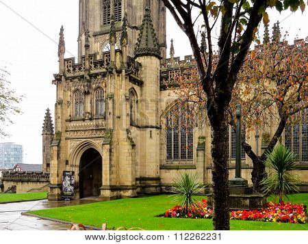 The Cathedral in Manchester, England