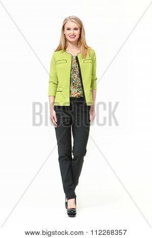 Beautiful Busyness Woman  Fashion Model